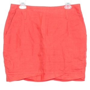 ♥LAST CHANCE♥ Ci Luce Linen Mini Skirt Large C1